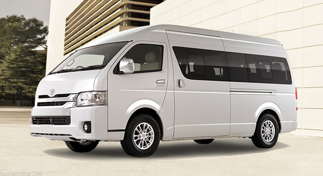 Toyota Commuter 12 Seater Bus