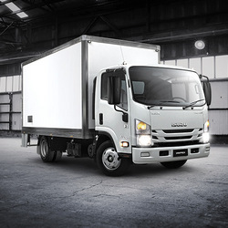 Small Moving Auto Truck-Isuzu-Hino or Similar Intermediate Van